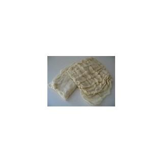 Chiffon gras ondulé coton